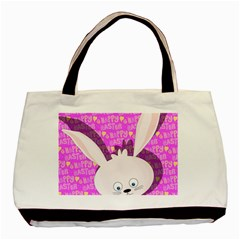 Easter bunny  Basic Tote Bag