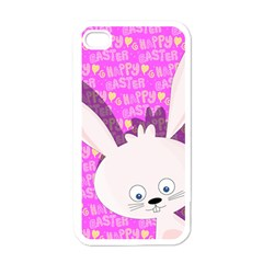Easter bunny  Apple iPhone 4 Case (White)