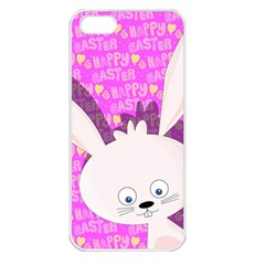 Easter bunny  Apple iPhone 5 Seamless Case (White)