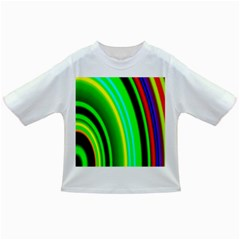 Multi Colorful Radiant Background Infant/Toddler T-Shirts