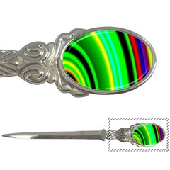 Multi Colorful Radiant Background Letter Openers