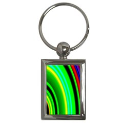 Multi Colorful Radiant Background Key Chains (rectangle)
