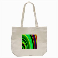Multi Colorful Radiant Background Tote Bag (cream)