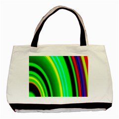 Multi Colorful Radiant Background Basic Tote Bag