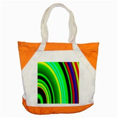 Multi Colorful Radiant Background Accent Tote Bag
