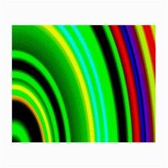 Multi Colorful Radiant Background Small Glasses Cloth (2 Side)