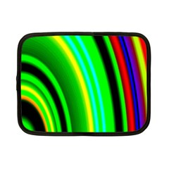Multi Colorful Radiant Background Netbook Case (Small)