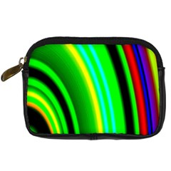 Multi Colorful Radiant Background Digital Camera Cases