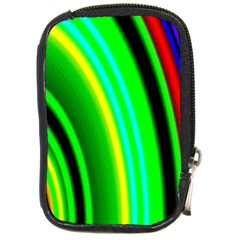 Multi Colorful Radiant Background Compact Camera Cases