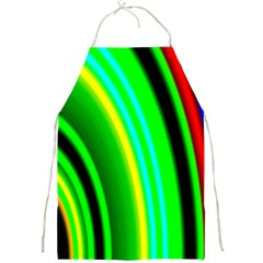 Multi Colorful Radiant Background Full Print Aprons