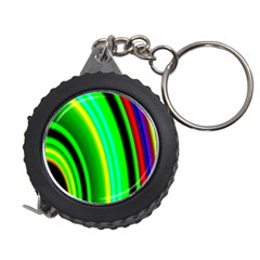 Multi Colorful Radiant Background Measuring Tapes