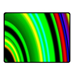 Multi Colorful Radiant Background Fleece Blanket (small)