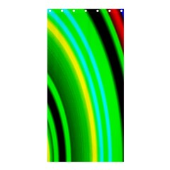 Multi Colorful Radiant Background Shower Curtain 36  x 72  (Stall)