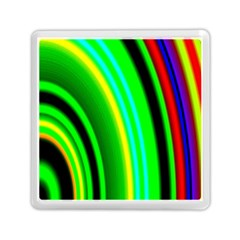 Multi Colorful Radiant Background Memory Card Reader (square)