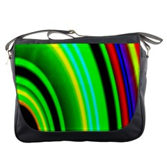 Multi Colorful Radiant Background Messenger Bags