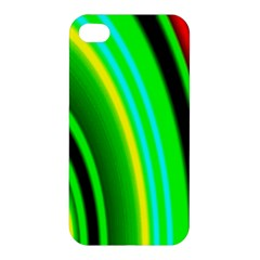 Multi Colorful Radiant Background Apple iPhone 4/4S Premium Hardshell Case