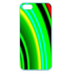 Multi Colorful Radiant Background Apple Seamless iPhone 5 Case (Color)