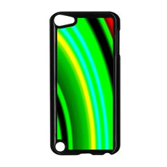 Multi Colorful Radiant Background Apple iPod Touch 5 Case (Black)