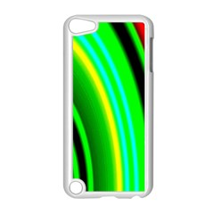 Multi Colorful Radiant Background Apple iPod Touch 5 Case (White)