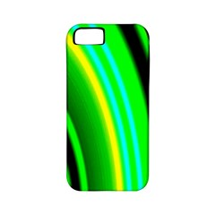 Multi Colorful Radiant Background Apple Iphone 5 Classic Hardshell Case (pc+silicone)