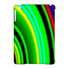 Multi Colorful Radiant Background Apple iPad Mini Hardshell Case (Compatible with Smart Cover)