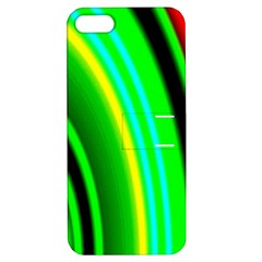 Multi Colorful Radiant Background Apple Iphone 5 Hardshell Case With Stand