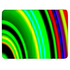 Multi Colorful Radiant Background Samsung Galaxy Tab 7  P1000 Flip Case