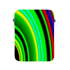 Multi Colorful Radiant Background Apple iPad 2/3/4 Protective Soft Cases