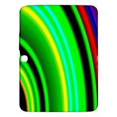 Multi Colorful Radiant Background Samsung Galaxy Tab 3 (10 1 ) P5200 Hardshell Case