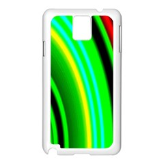 Multi Colorful Radiant Background Samsung Galaxy Note 3 N9005 Case (white)