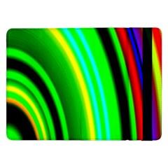 Multi Colorful Radiant Background Samsung Galaxy Tab Pro 12 2  Flip Case