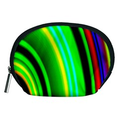 Multi Colorful Radiant Background Accessory Pouches (Medium)