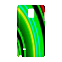 Multi Colorful Radiant Background Samsung Galaxy Note 4 Hardshell Case