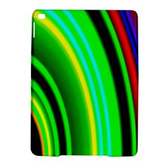 Multi Colorful Radiant Background iPad Air 2 Hardshell Cases