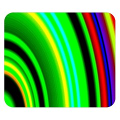 Multi Colorful Radiant Background Double Sided Flano Blanket (Small)