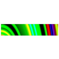 Multi Colorful Radiant Background Flano Scarf (Small)