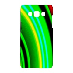 Multi Colorful Radiant Background Samsung Galaxy A5 Hardshell Case
