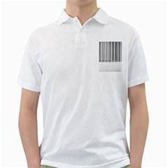 Abstract Piano Keys Background Golf Shirts