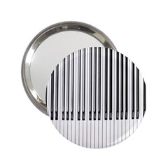 Abstract Piano Keys Background 2.25  Handbag Mirrors