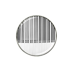Abstract Piano Keys Background Hat Clip Ball Marker