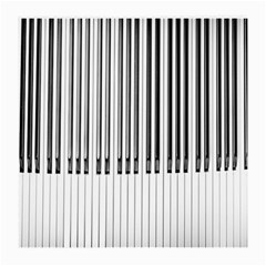 Abstract Piano Keys Background Medium Glasses Cloth