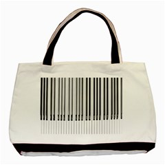 Abstract Piano Keys Background Basic Tote Bag (two Sides)