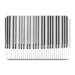 Abstract Piano Keys Background Plate Mats