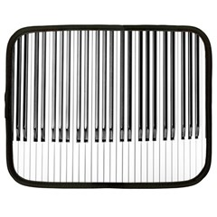 Abstract Piano Keys Background Netbook Case (Large)