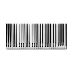 Abstract Piano Keys Background Cosmetic Storage Cases