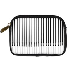Abstract Piano Keys Background Digital Camera Cases