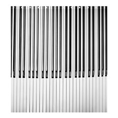 Abstract Piano Keys Background Shower Curtain 66  X 72  (large)