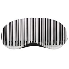 Abstract Piano Keys Background Sleeping Masks