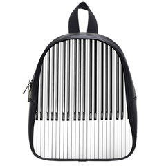 Abstract Piano Keys Background School Bags (small)