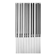 Abstract Piano Keys Background Shower Curtain 36  x 72  (Stall)